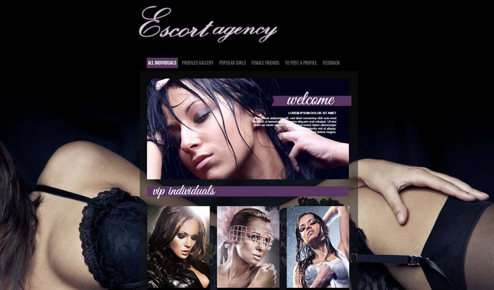 Best in Escorts Layout