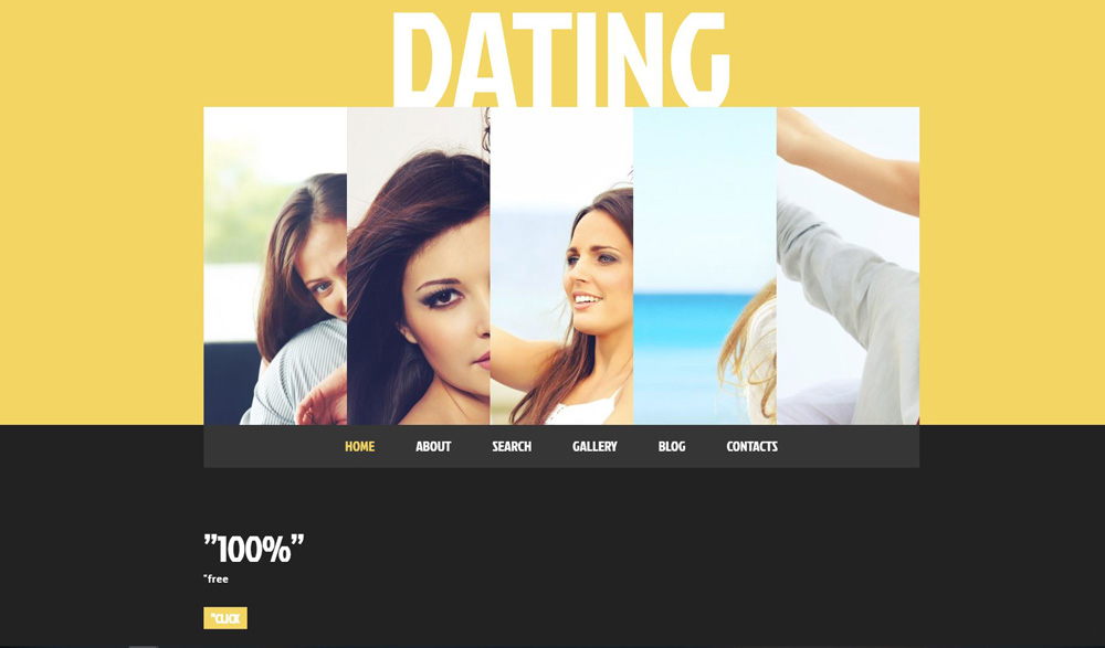 Dating Theme 49499 Layout