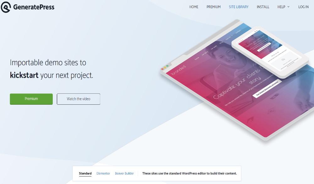 GeneratePress Layout