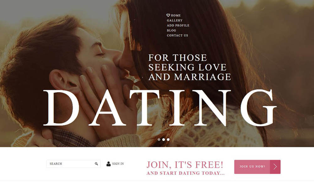 Joomla Dating Layout