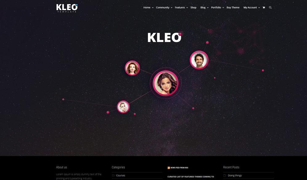 Kleo Layout