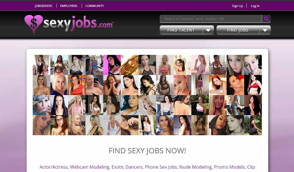SexyJobs Layout
