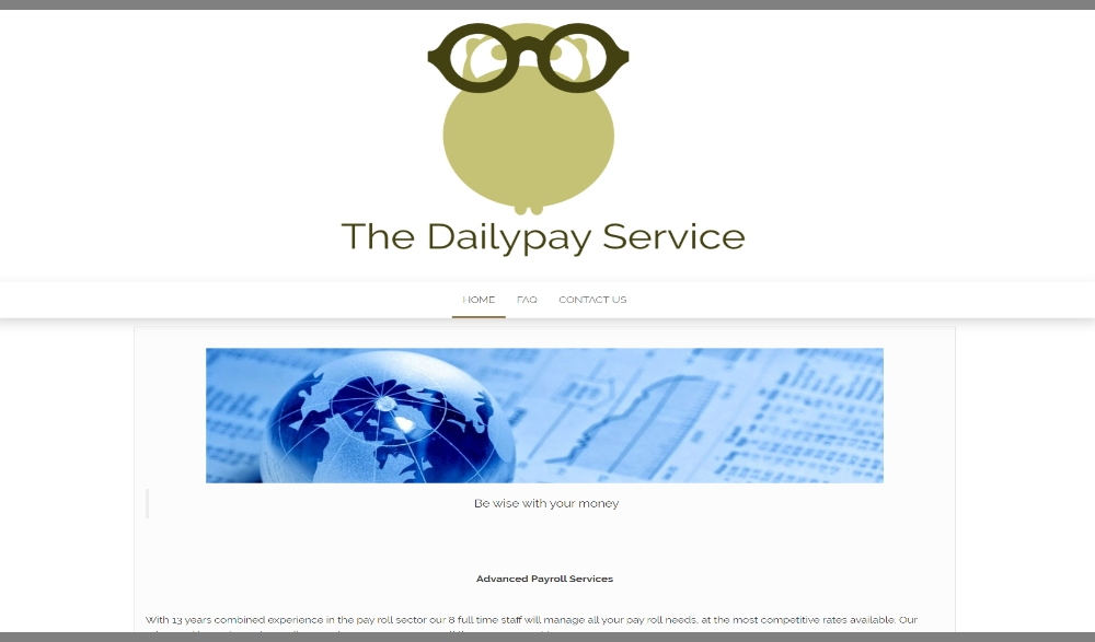 The DailyPay Service Layout
