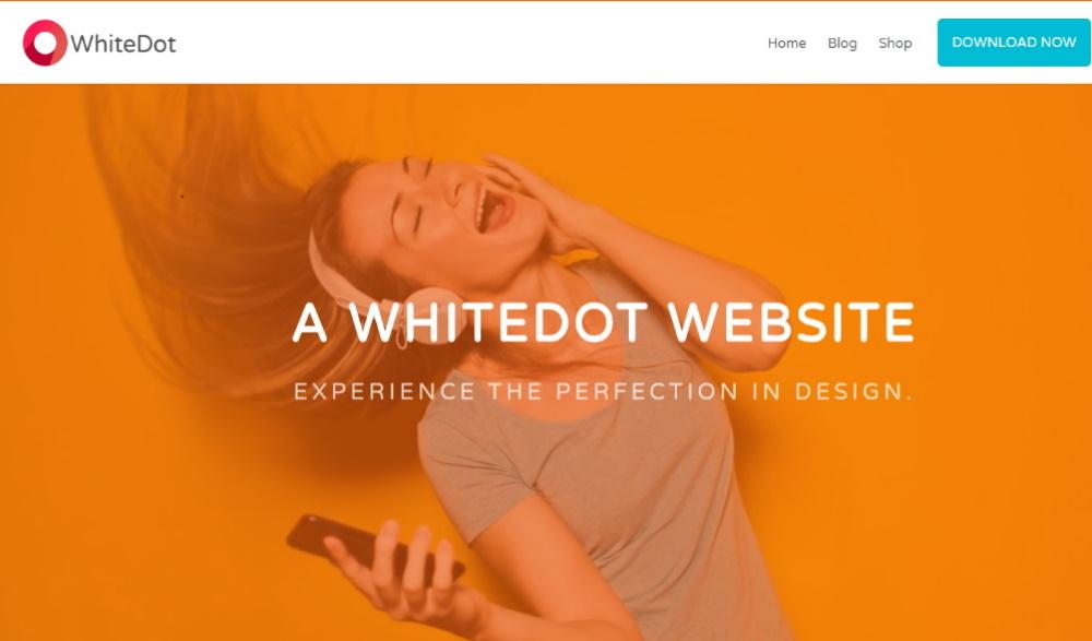 WhiteDot Layout