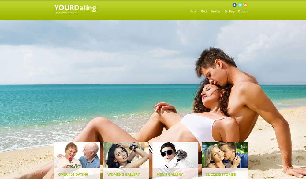 YourDating Layout
