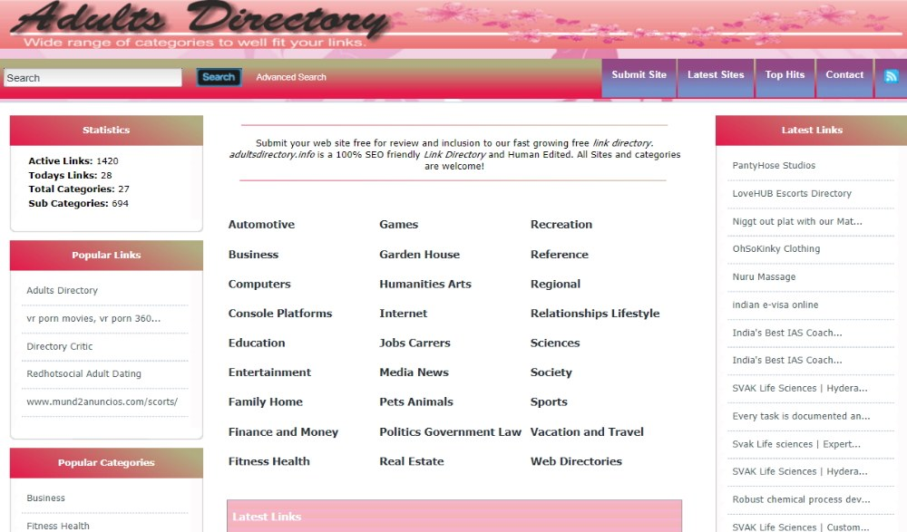Adults Directory-Layout