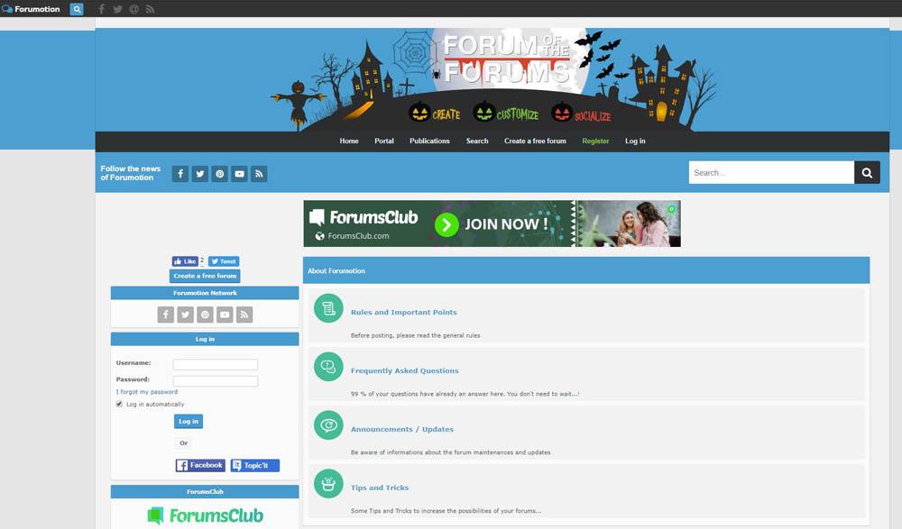 Forumotion Layout