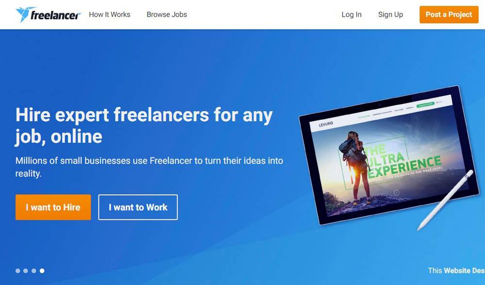 Freelancer Layout