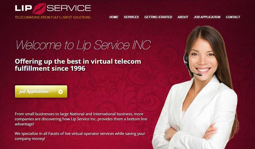 Lip Service Layout