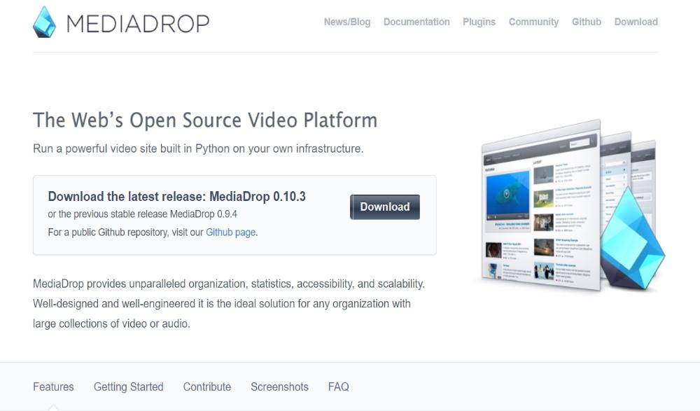 MediaDrop Layout