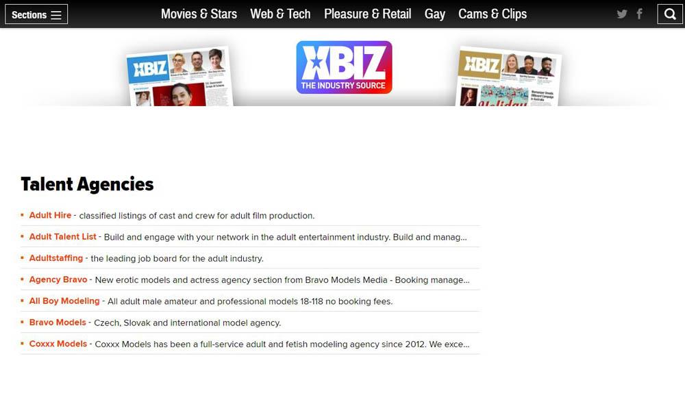 XBizz Layout