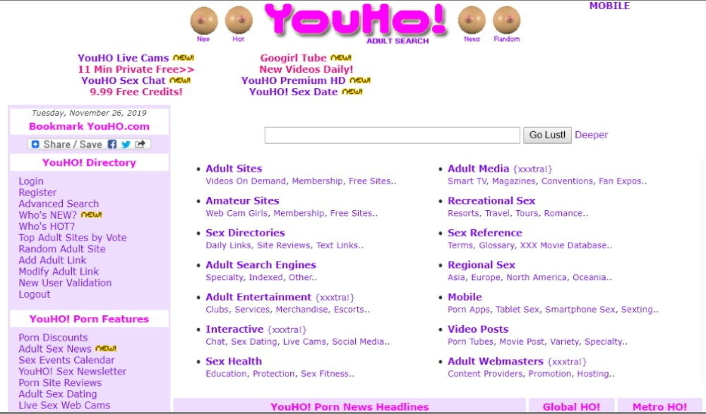 YouHo-Layout