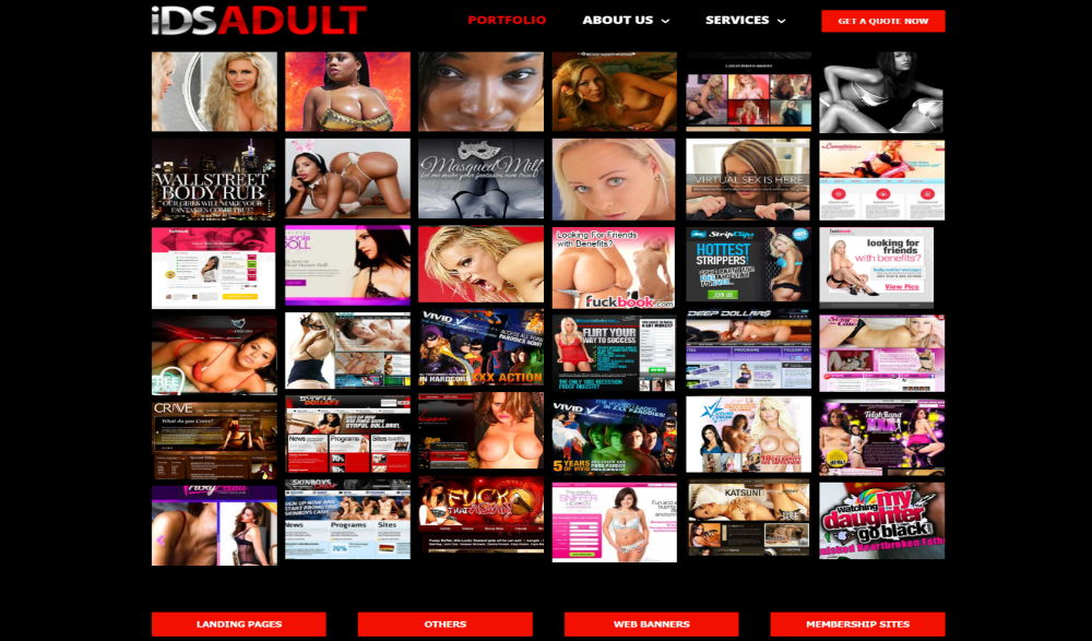 IDSadult's PornCMS Layout
