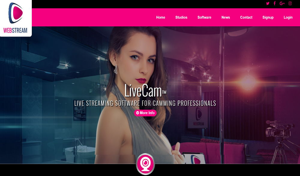 Webstream Layout
