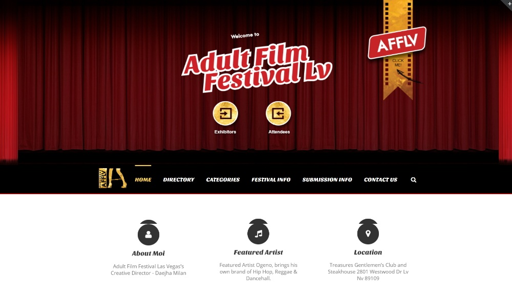 Adult Film Festival Layout