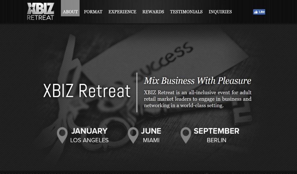 XBIZ Retreat Layout