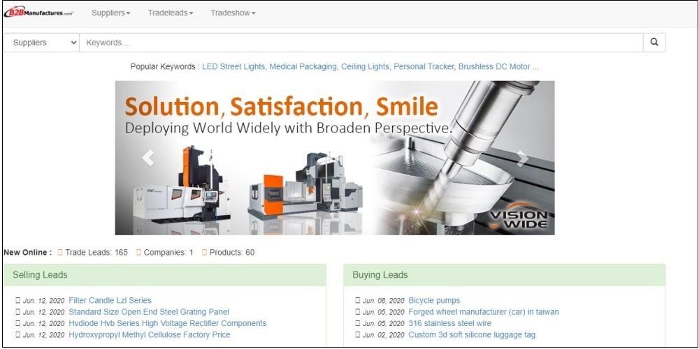 Find a Manufacturer