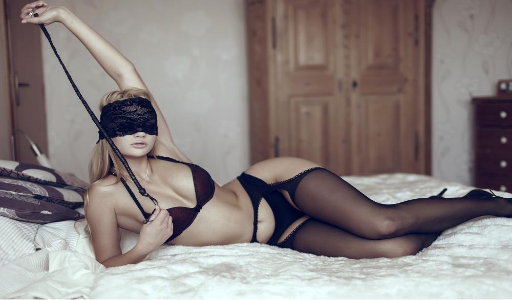 Blindfolded escort